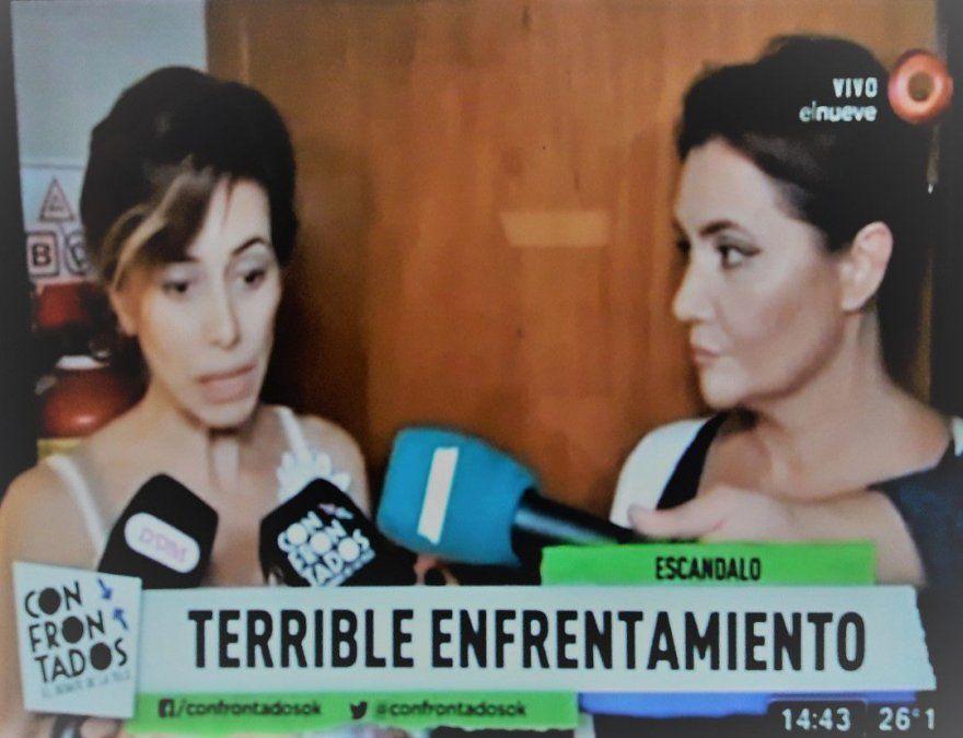Escandalosa pelea entre Nancy Pazos y la jefa de couch del Bailando: Acá se contrata gente por amistad