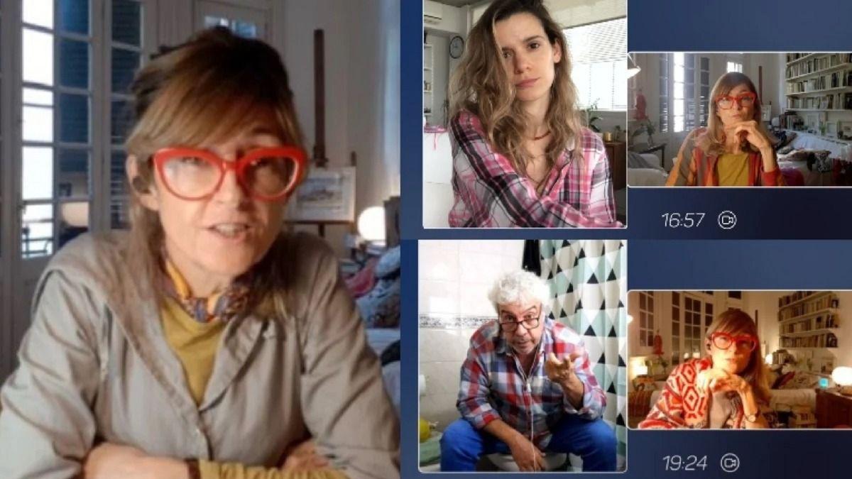 La serie Terapia en Cuarentena es protagonizada porCarola Reyna