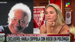 Rocío Oliva y Guillermo Coppola se enfrentaron al aire