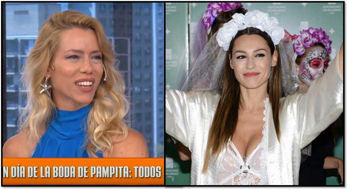 Nicole Neumann se indignó porque en el casamiento de Pampita darán de comer cordero