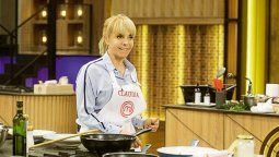 La empresaria Claudia Villafañe regresó a las cocinas de Masterchef