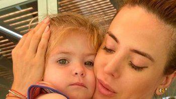 La hija de Jésica Cirio tiene una rutina de entrenamiento