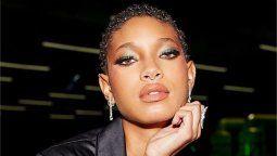 Willow Smith, hija de Will Smith, se robó las miradas en el desfile de Rihanna