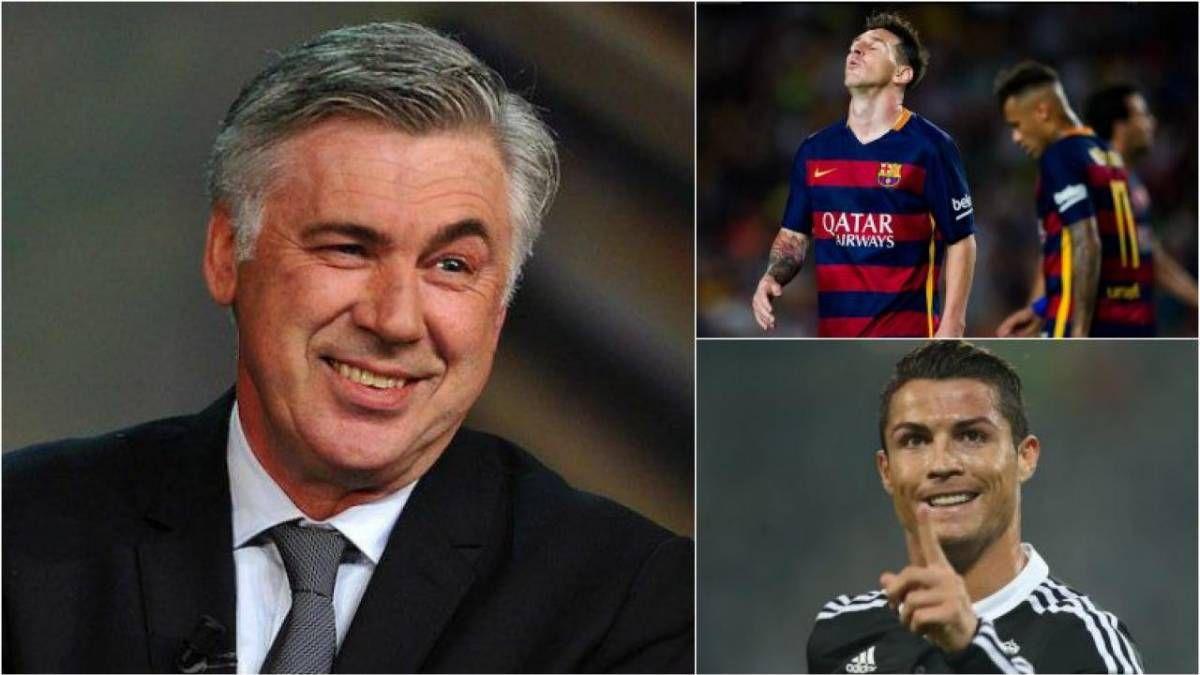 ¡Respuesta simple! ¿Lionel Messi o Cristiano Ronaldo? Ancelotti responde