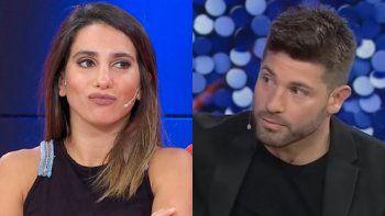 Cinthia Fernández le confesó al novio de Lizy Tagliani que ella lo llamó cholulo