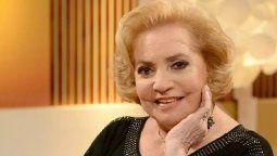 Nelly Trenti, la histórica locutora de Mirtha Legrand, vuelve con ella este sábado