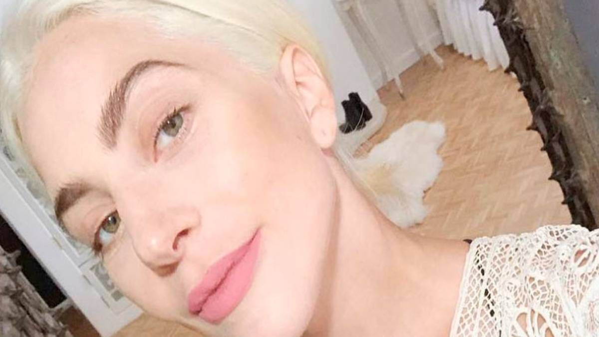 ¡Única! Lady Gaga luce hermosa sin maquillaje