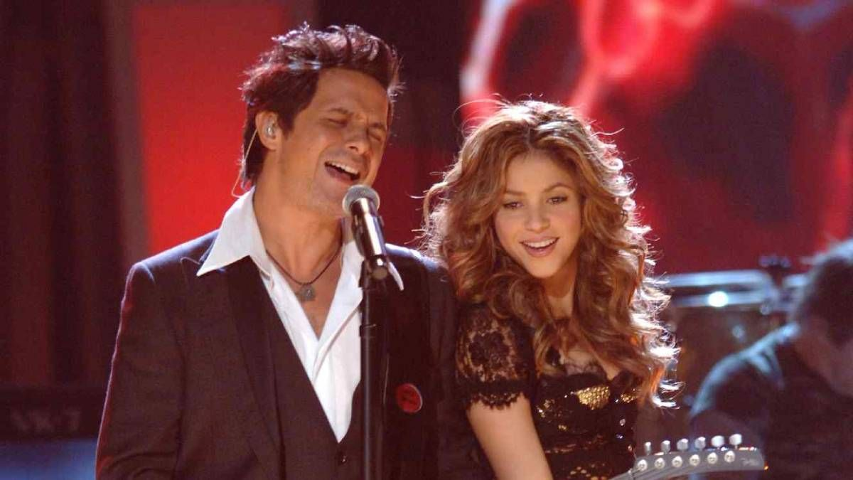 ¡Únicos! Alejandro Sanz posteó un recuerdo con Shakira