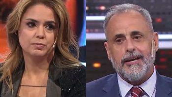 Marina Calabró sorprendida por la reacción de Jorge Rial