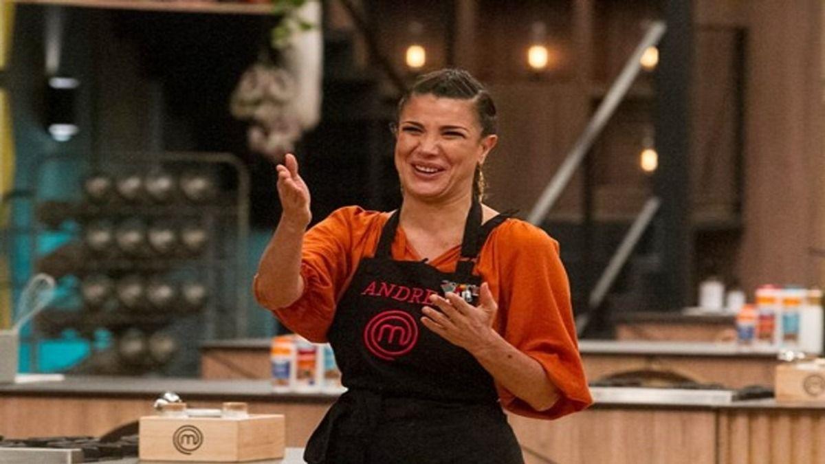 Andrea Rincón fue la eliminada de Masterchef Celebrity este domingo