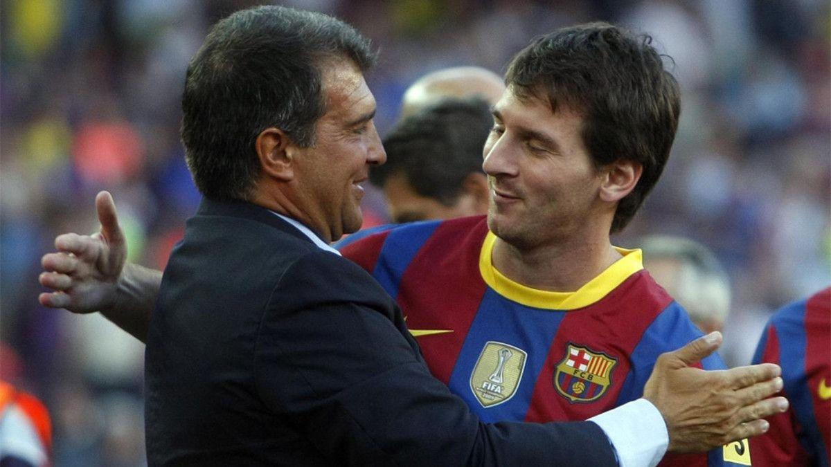¡Bombazo! Joan Laporta: Sospecho que quieren vender a Messi
