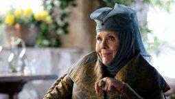 Murió Diana Rigg, estrella de Game of Thrones