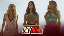 Lali Espósito habló de las escenas hot de Sky rojo,la serie de Netflix.