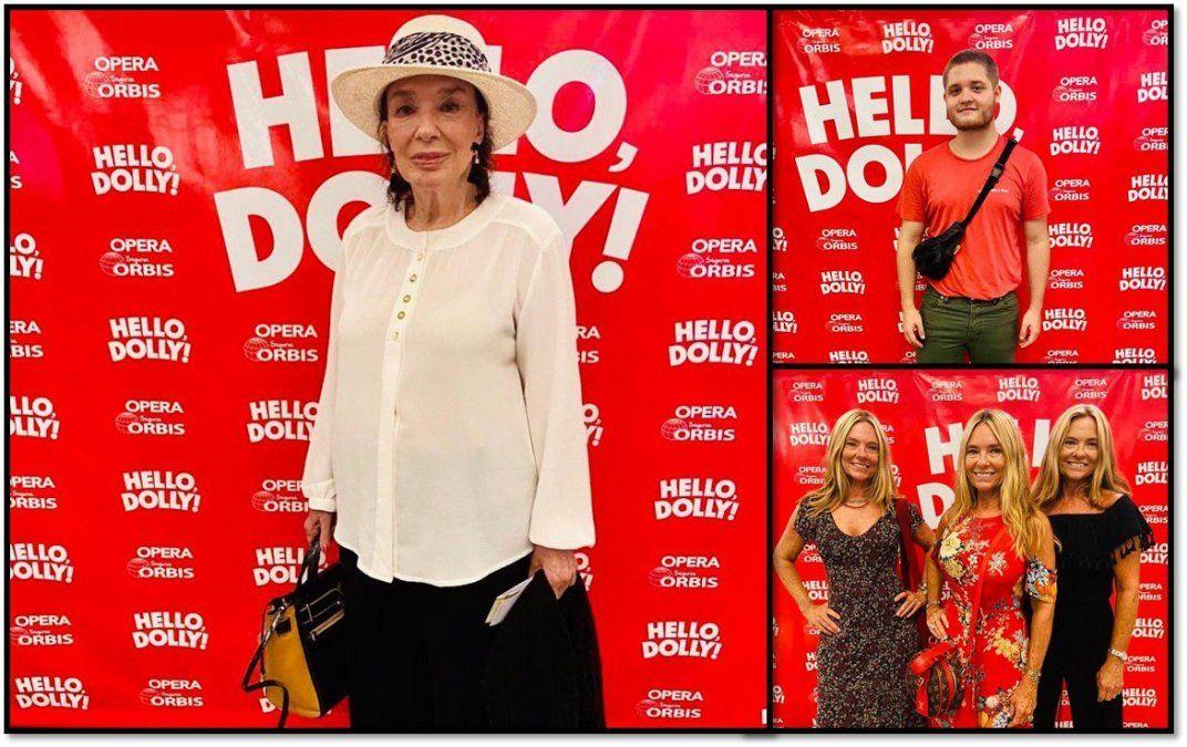 Graciela Borges, las Trillizas de Oro y Toto Kirzner disfrutaron de Hello Dolly!