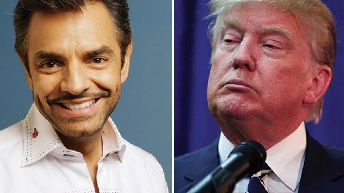 ¡Ya siéntese señora! Eugenio Derbez responde a Donald Trump tras reiterar que ganó las elecciones