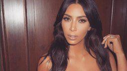 ¡Casi desnuda! Kim Kardashian enloqueció a sus fans