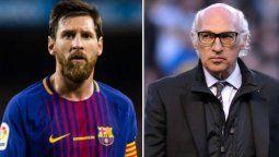 ¡Habló Bianchi! El Barcelona está a merced de lo que haga Lionel Messi