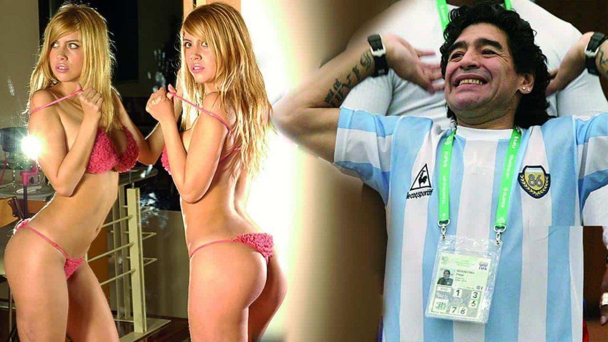 ¿Wanda Nara se acostó con Maradona para ser famosa?