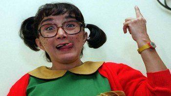 María Antonita de las Nieves se hizo famosa en todo el continente gracias a su personaje de La Chilindrina