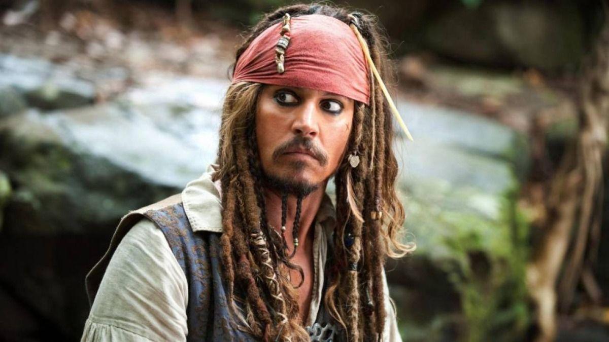 El actor JohnnyDepp interpretó por primera vez a Jack Sparrow en 2003
