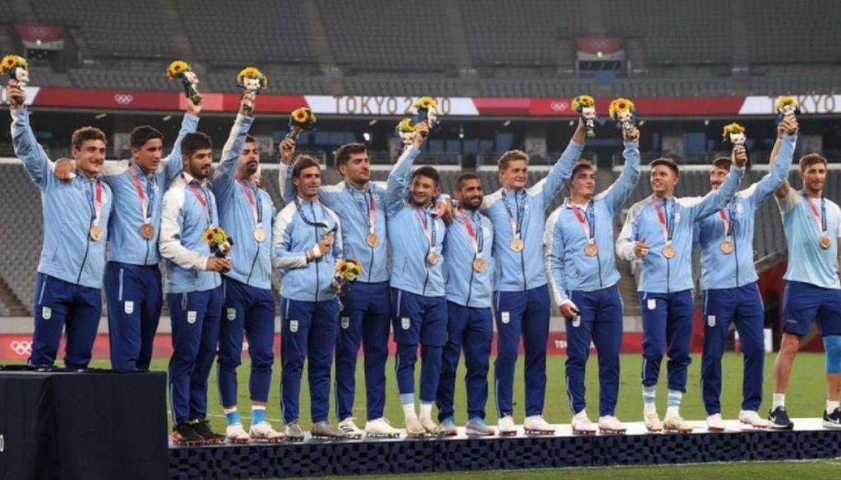 El equipo de Rugby Pumas 7 obtuvo la medalla de bronce en Tokio 2020