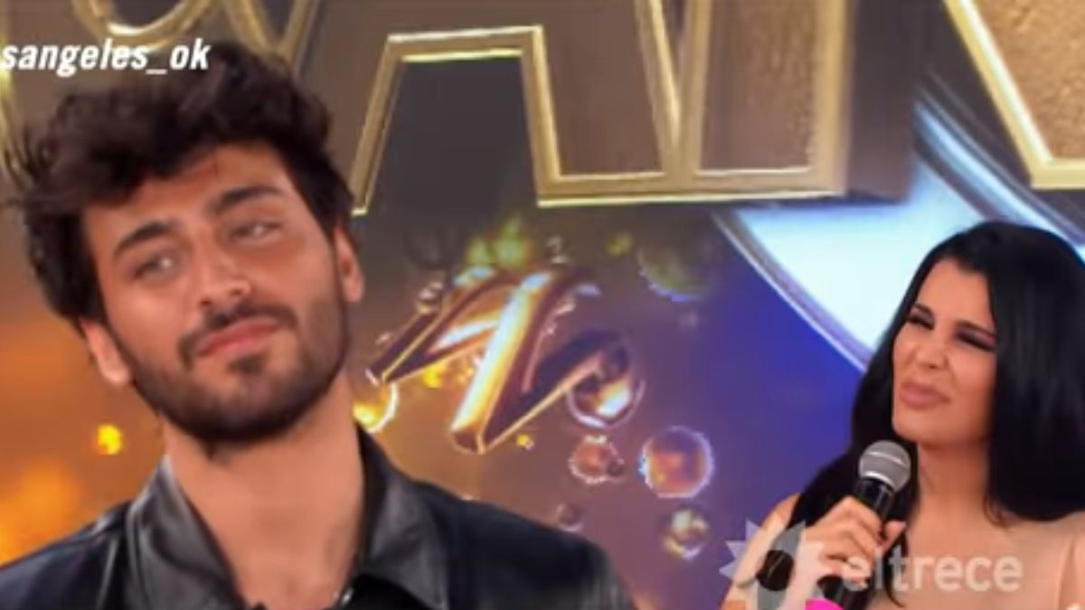Lizardo Ponce filoso con Charlotte Caniggia tras su eliminación del Cantando 2020