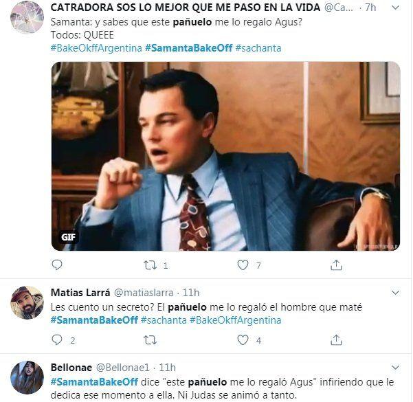Twitter estalló contra Samanta de Bake Off