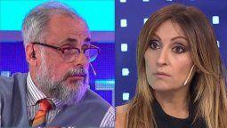 El presentador Jorge Rial y la periodista Marcela Tauro se enfrentaron hace dos meses. Lo que concluyó con la salida de Tauro de Intrusos