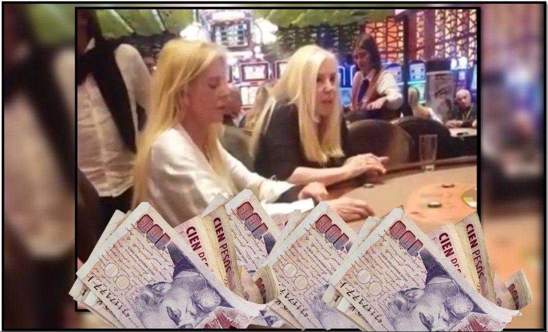 Susana Giménez pasó por el casino y jugó fuerte