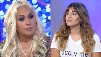 Gianinna Maradona publicó fuertes chats con Verónica Ojeda