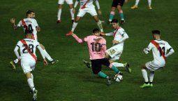 ¡Entre 5! Lionel Messi y la foto que se hizo viral