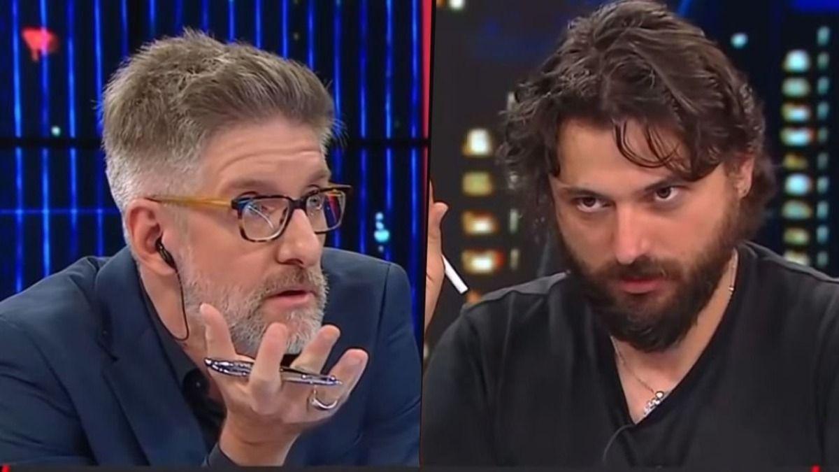 Juan Grabois le dijo a Luis Novaresio que CFK está enojada con el
