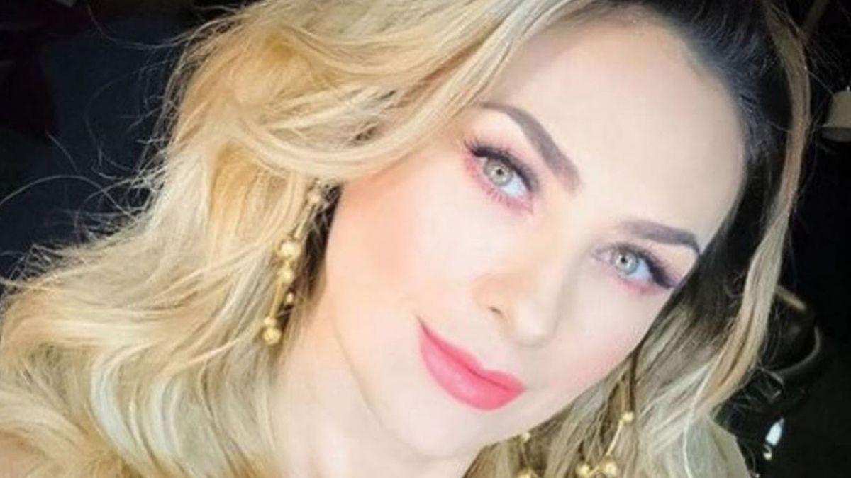 ¡No la perdonaron! Aracely Arámbula se transformó durante un video en vivo