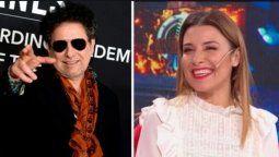 Mariana Brey habló en Lam de su antigua relación con el músico Andrés Calamaro