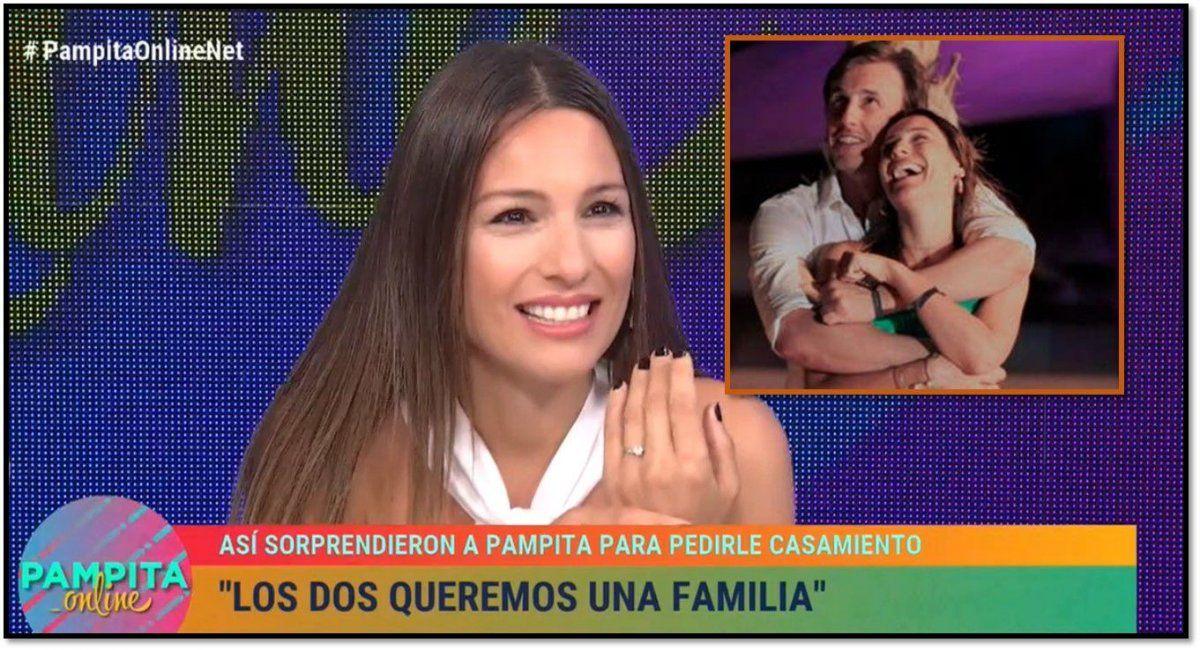 Pampita habló del pedido de casamiento: Cuando es la persona correcta te das cuenta