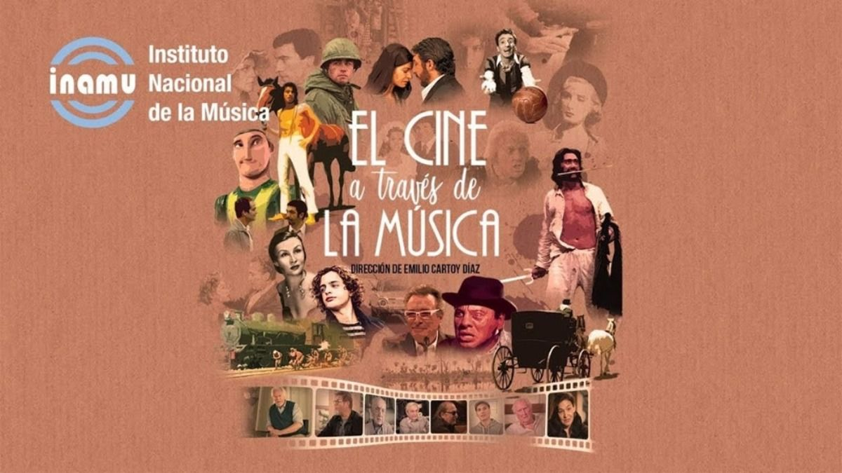 El documental El cine a través de la música fue rodado porEmilio Cartoy Díaz