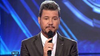 Marcelo Tinelli, conductor de La Academia de Showmatch, por Canal 13