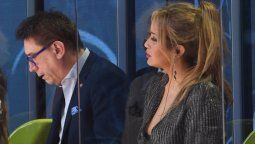 Oscar Mediavilla y Karina la Princesita se contentaron