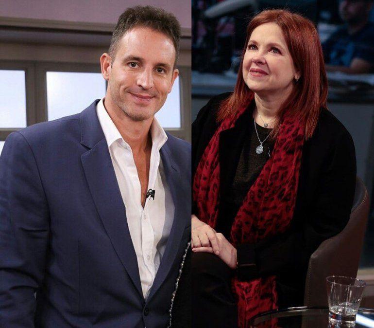 Más indicios del romance entre Andrea del Boca y su abogado, el Dr Juan Pablo Fioribello