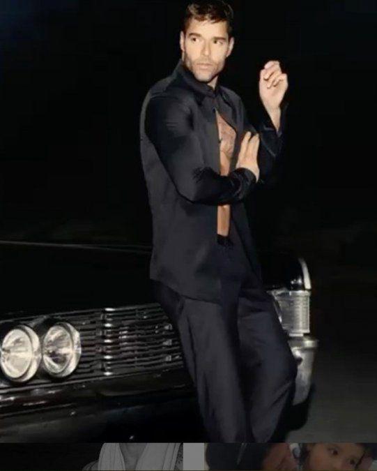Ricky Martin fue papá: presentó a su cuarto hijo