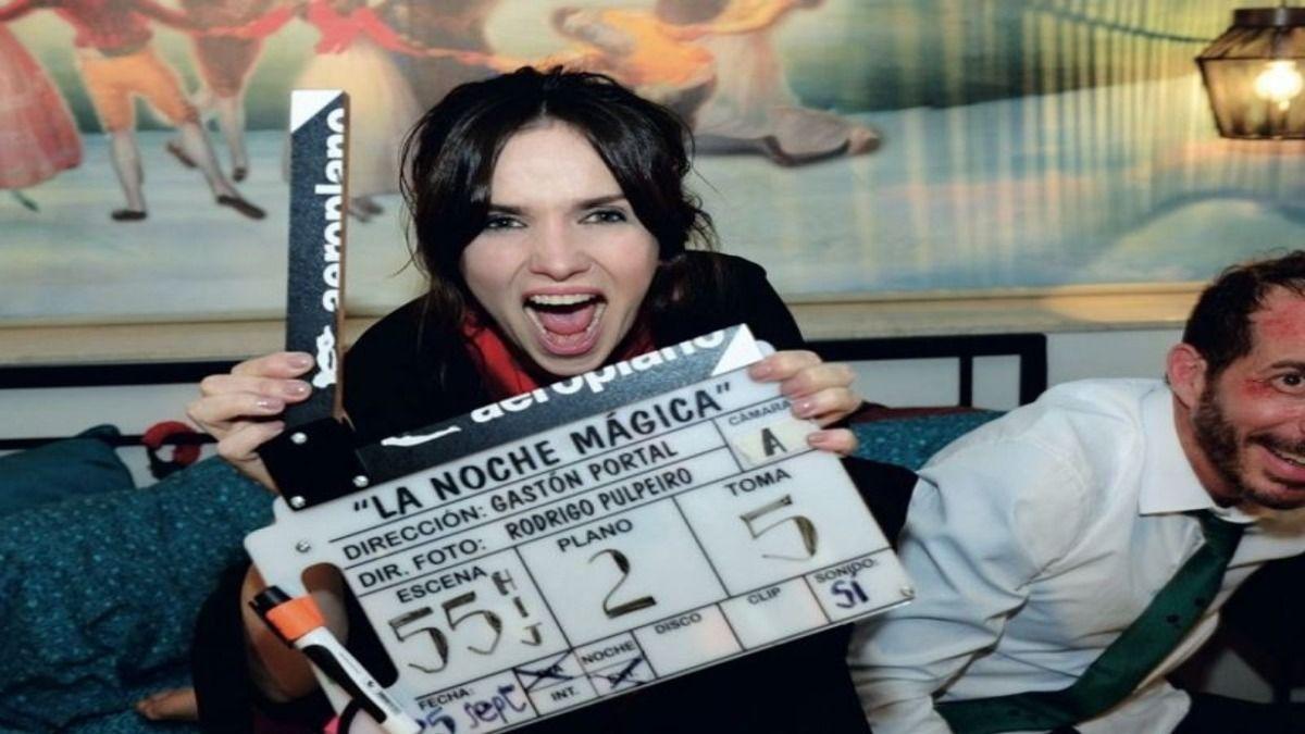La actriz Natalia Oreiro habló desde Uruguya de su nueva película que estrena este jueves