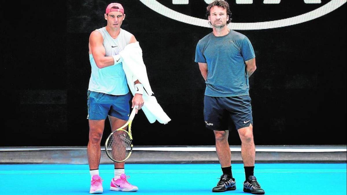 Carlos Moyá: Rafa Nadal pasó dos meses sin tocar una raqueta