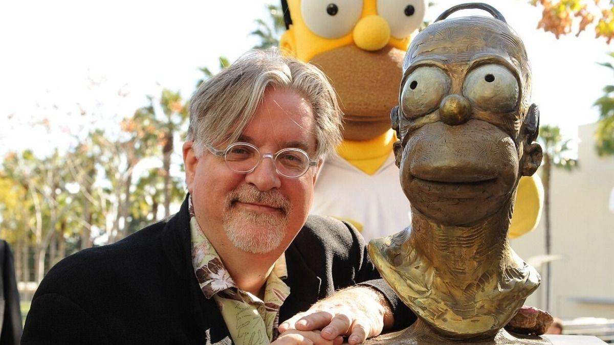 Matt Groening el creador de Los Simpsons