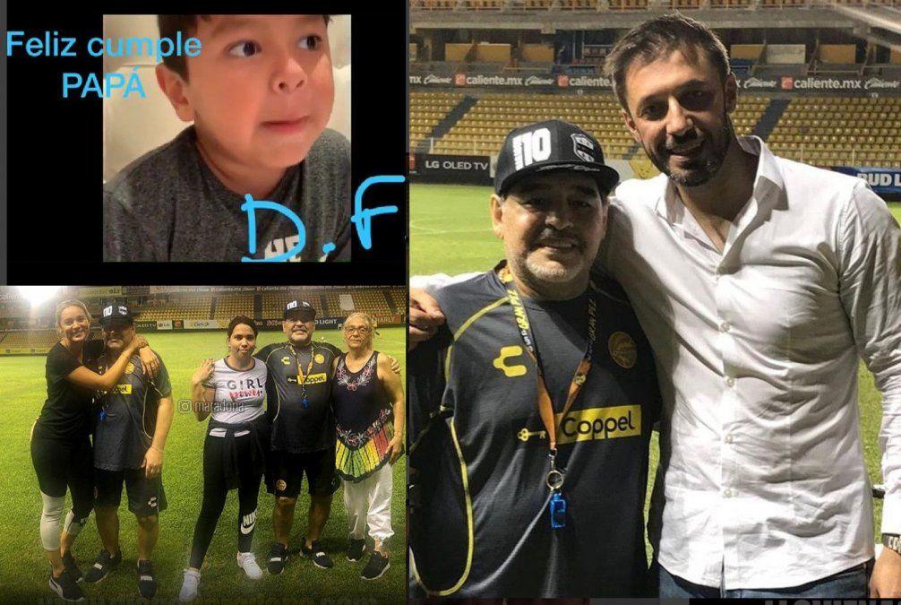 Diego cumple 58 años y lo festeja con Rocío, Matías Morla, sus hermanas, un sobrino y el saludo de Diego Fernando