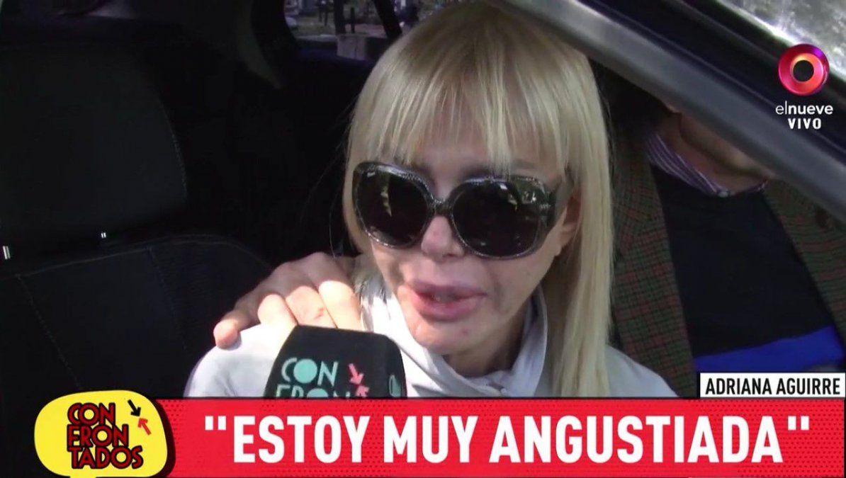Adriana Aguirre devastada por la muerte de su madre