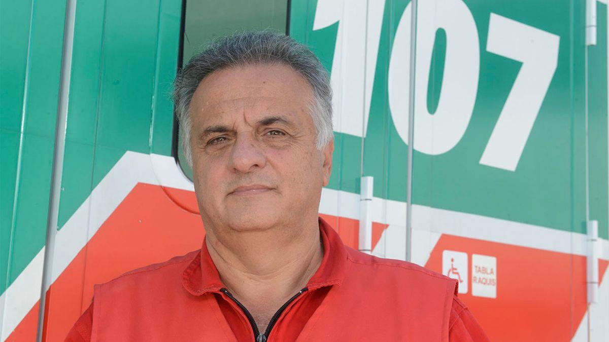 Entre lágrimas Alberto Crescenti recordó a los dos bomberos muertos en incendio de Villa Crespo