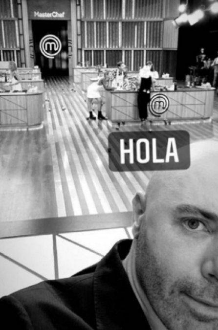 Germán Martitegui reveló sin querer quién ganó el repechaje de Masterchef Celebrity