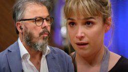 El plato de Sofía Pachano disgustó al jurado de Masterchef Celebrity Donato De Santis