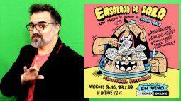 El humorista Gustavo Sala presentará en la CCK su ciclo de conciertos de humor