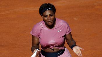 ¡incómoda! Serena Williams se puso seria en rueda de prensa